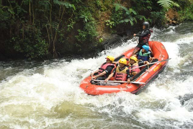 Sejarah Olahraga Rafting Outbound Bandung Cileunca Adventure
