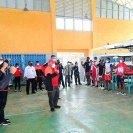 Tim dayung Indonesia Mempersiapkan Diri di Situ Cileunca, Pangalengan, Jawa Barat Untuk Olimpiade di Toyo Jepang